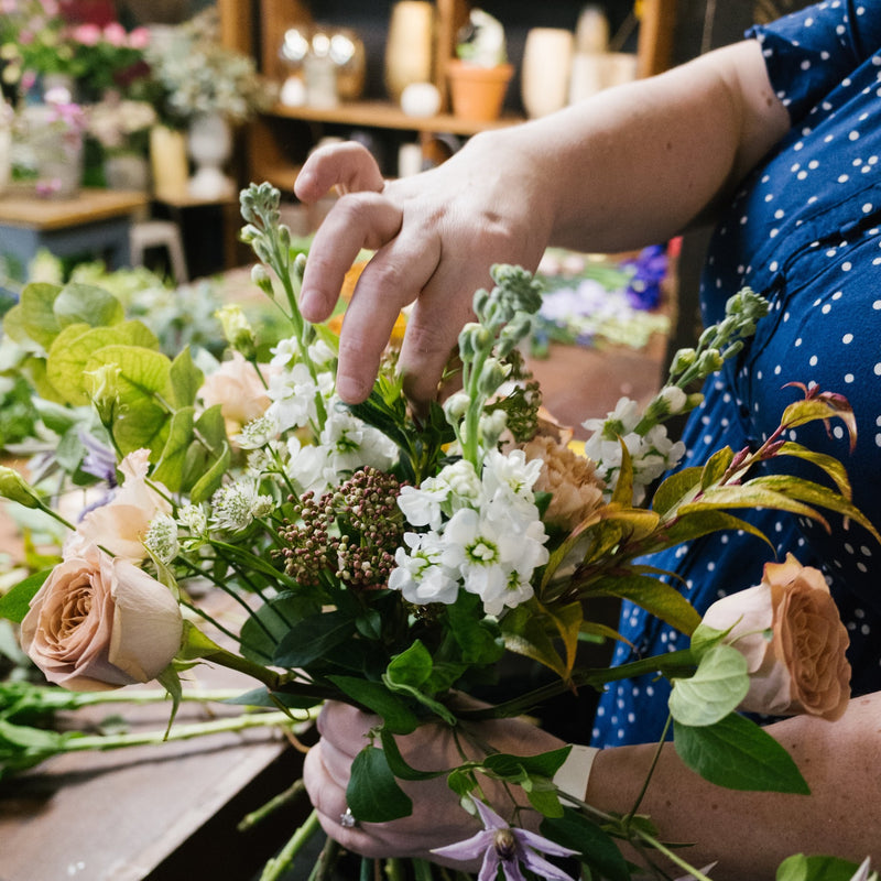 November 1 week Introduction to Professional Floristry Course, Starting Monday 9th November 2020
