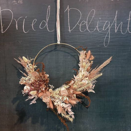 Dried Flower Wreaths, Various Dates