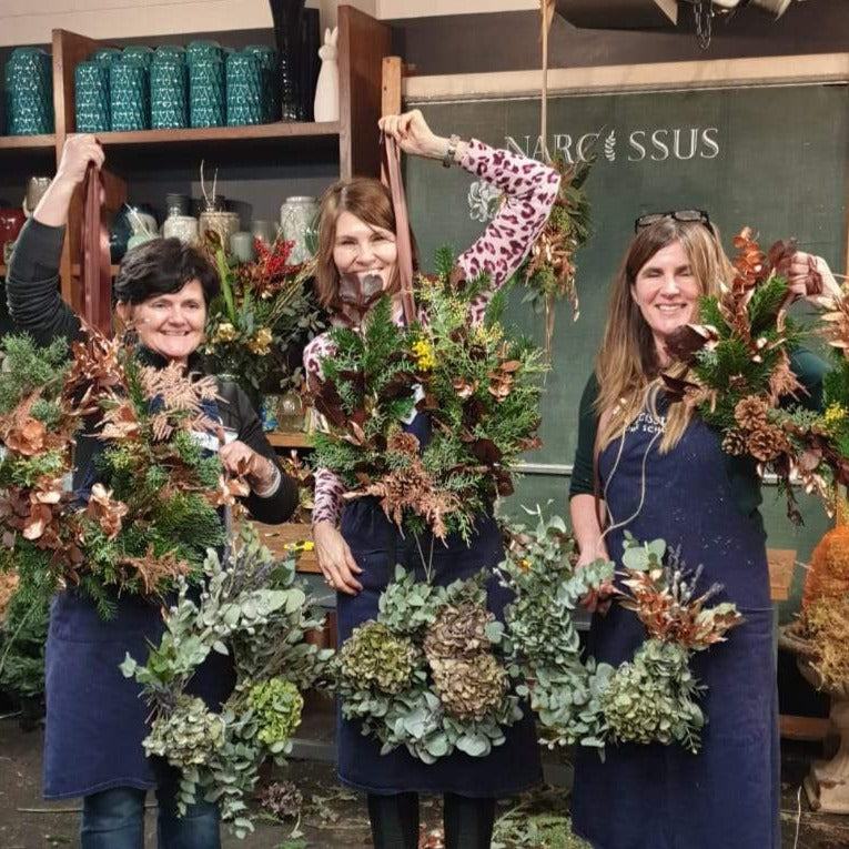 Contemporary Wreath Making, Various Dates