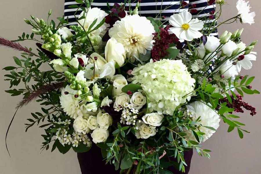 The Asymmetrical Hand-tied Bouquet, Thursday 16th January 2020