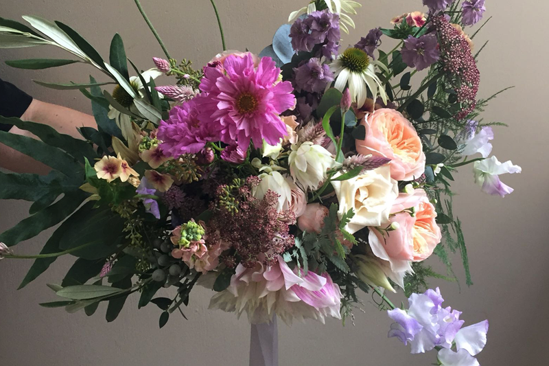 The Asymmetrical Hand-tied Bouquet, Thursday 27th June 2019