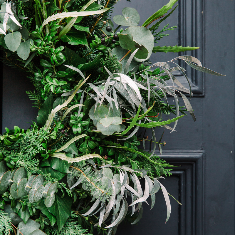 Lush Scandi Wreath