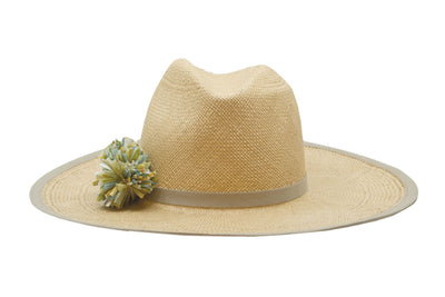 Amahuaca Panama Straw Rancher Hat | Ophelie Hats Shop Custom Made Felt Hats Montréal Canada