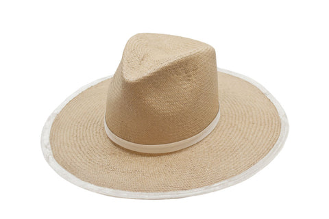 Blue Mountain Panama Straw Rancher Hat | Ophelie Hats Shop Custom Made Felt Hats Montréal Canada