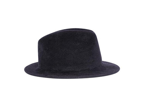 Bugsy Siegel Fedora Fur Felt Hat | Ophelie Hats Shop Custom Made Felt Hats Montréal Canada