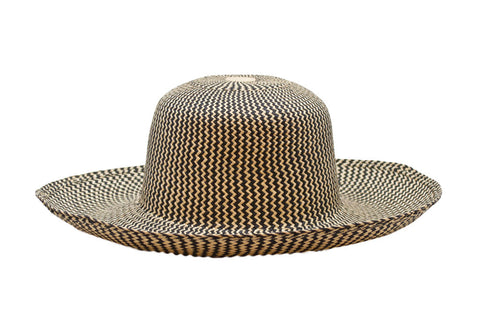 Bumble Bee Panama Straw Hat