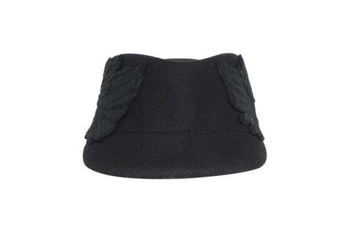 Harterix Winged Wool Felt Cap | Ophelie Hats Shop Custom Made Felt Hats Montréal Canada