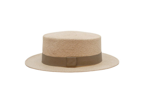 Jacky Cooper Straw Cordobes Panama Hat | Ophelie Hats Shop Custom Made Felt Hats Montréal Canada