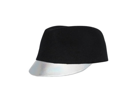Langue d'argent Wool Felt Cap | Ophelie Hats Shop Custom Made Felt Hats Montréal Canada