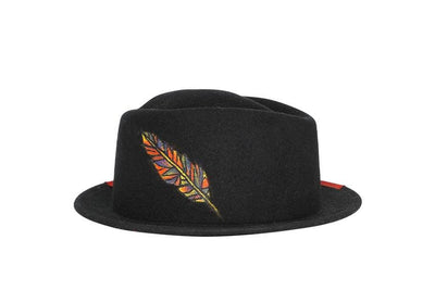 Lester Willis Pork Pie Wool Felt Hat | Ophelie Hats Shop Custom Made Felt Hats Montréal Canada