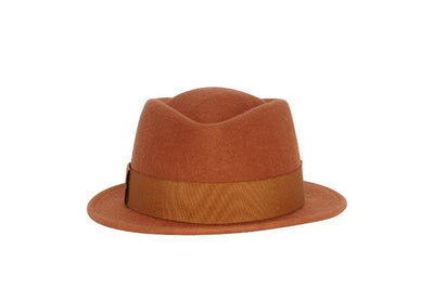 Marcus Miller Pork Pie Wool Felt Hat | Ophelie Hats Shop Custom Made Felt Hats Montréal Canada