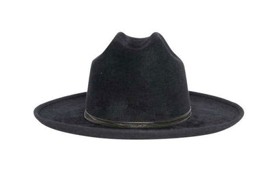 Midnight Rancher Fedora Fur Felt Hat | Ophelie Hats Shop Custom Made Felt Hats Montréal Canada