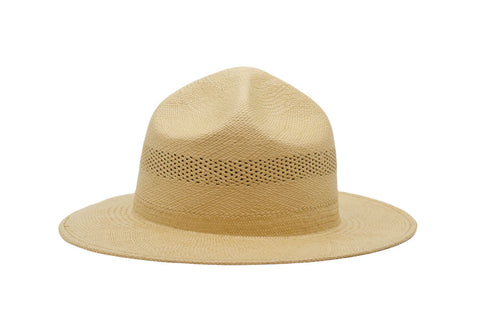 Sam Steele Panama Straw Mountie Hat | Ophelie Hats Shop Custom Made Felt Hats Montréal Canada