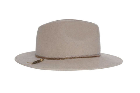 Sand Star Wool Felt Hat | Ophelie Hats Shop Custom Made Felt Hats Montréal Canada