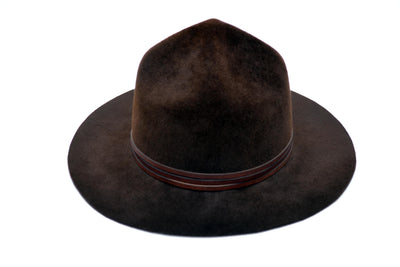 Soldat à Cheval Mountie Wool Felt Hat | Ophelie Hats Shop Custom Made Felt Hats Montréal Canada