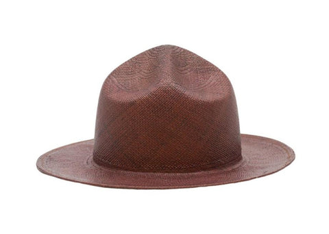 Soldat Panama Straw Mountie Hat | Ophelie Hats Shop Custom Made Felt Hats Montréal Canada
