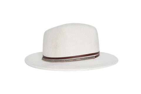 Topango Fedora Wool Felt Hat | Ophelie Hats Shop Custom Made Felt Hats Montréal Canada