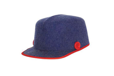 Vertebral Wool Felt Cap | Ophelie Hats Shop Custom Made Felt Hats Montréal Canada