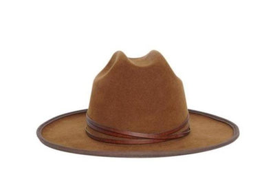 Whiskey Springs Rancher Wool Felt Hat | Ophelie Hats Shop Custom Made Felt Hats Montréal Canada