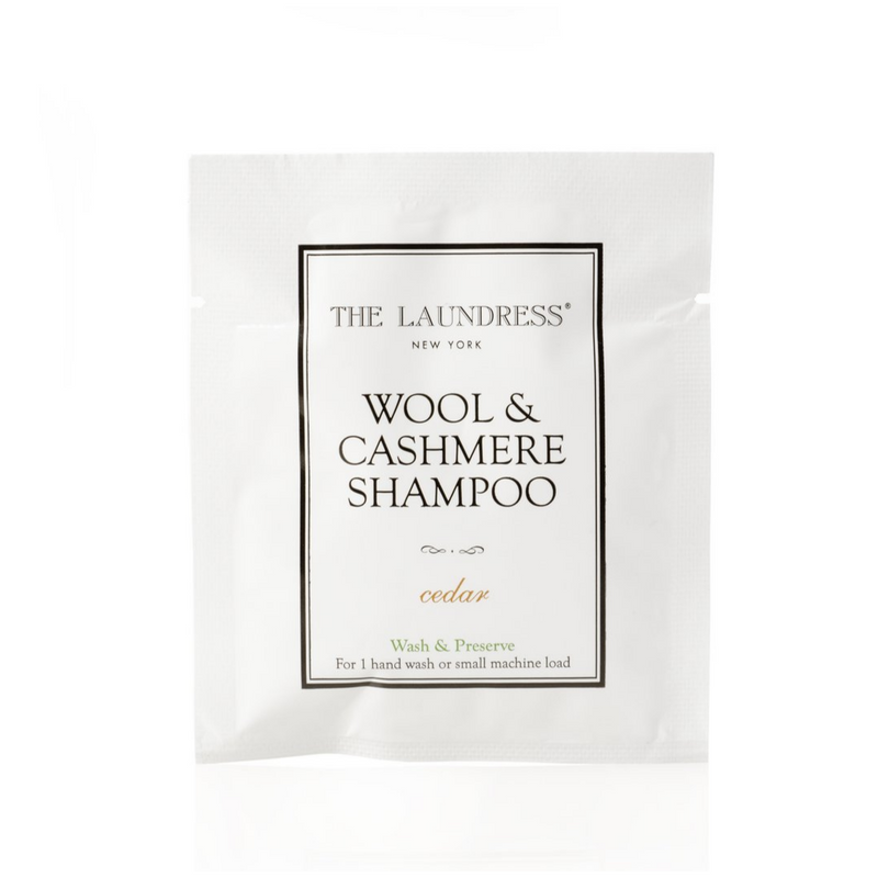 Wool and Cashmere Shampoo Packets
