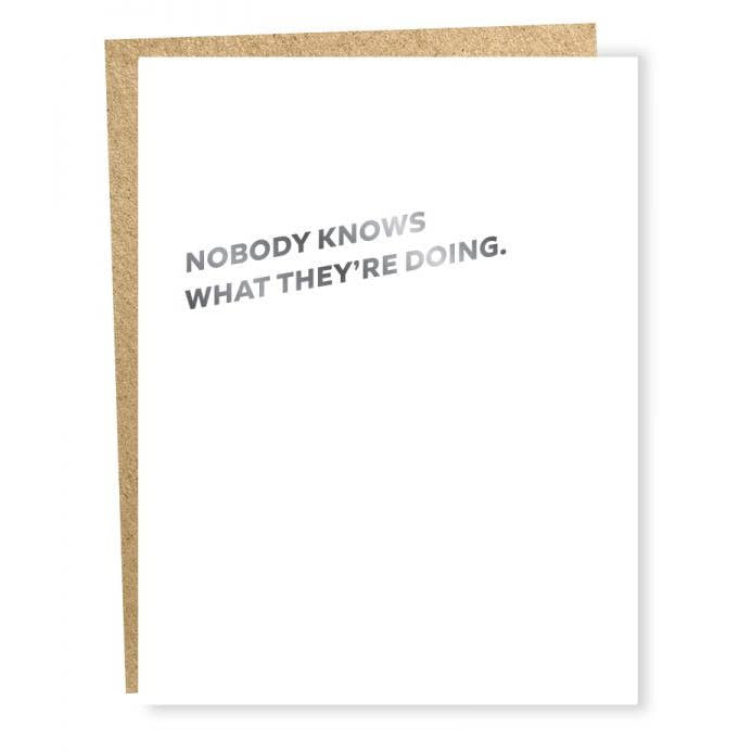 Card: Nobody Knows