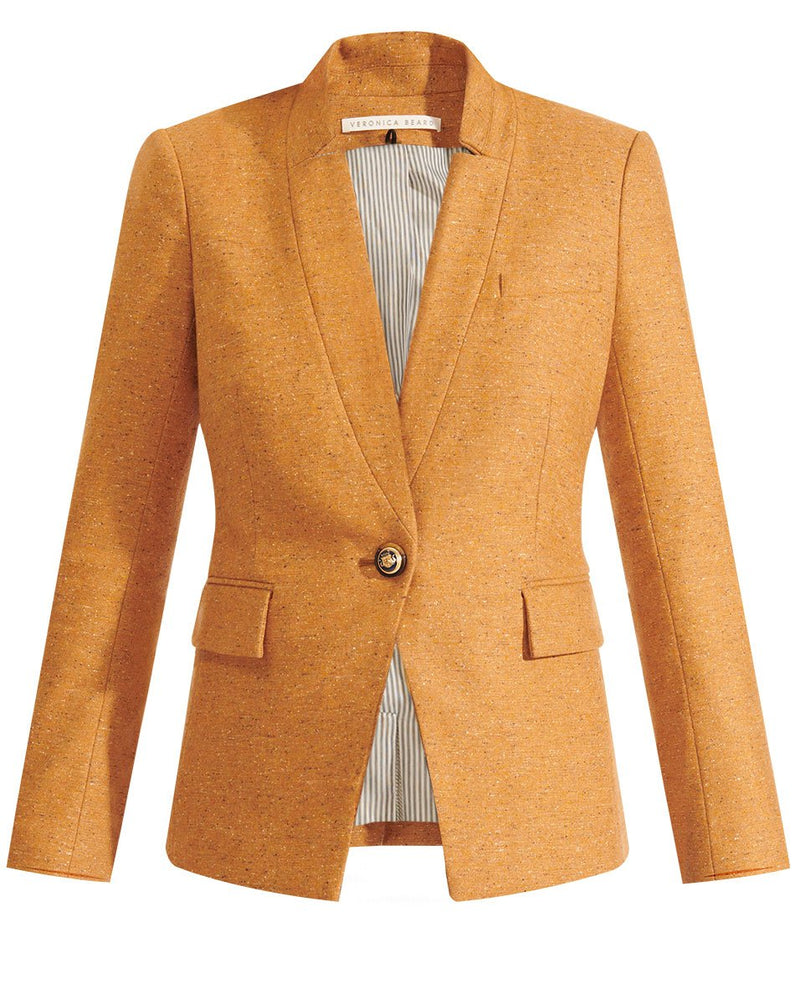 Upcollar Dickey Jacket (Camel)
