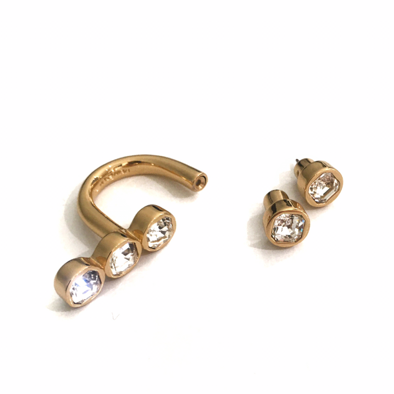 Lynx Gold E-Ring Set
