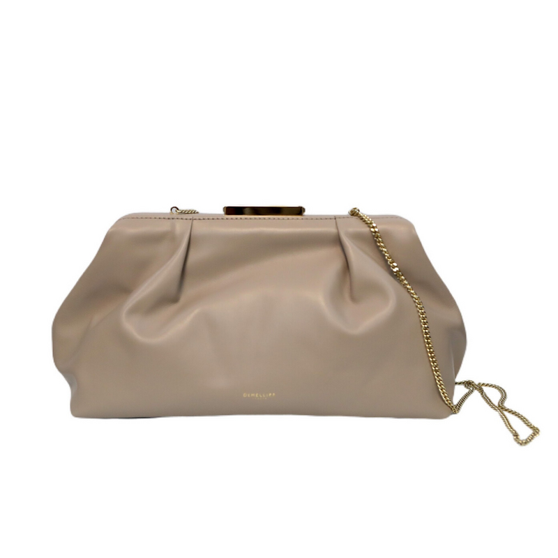 Florence Stone Smooth Soft Clutch