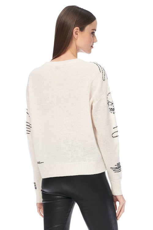Paxon Sweater Chalk/Black