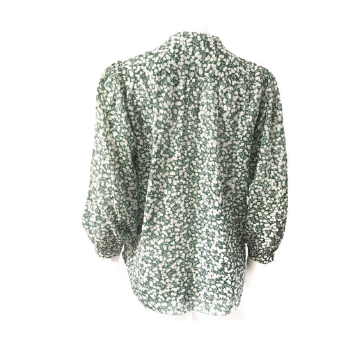 Bailey Boho Top (Evergreen Print)