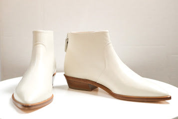 Bone Leather Low Boot