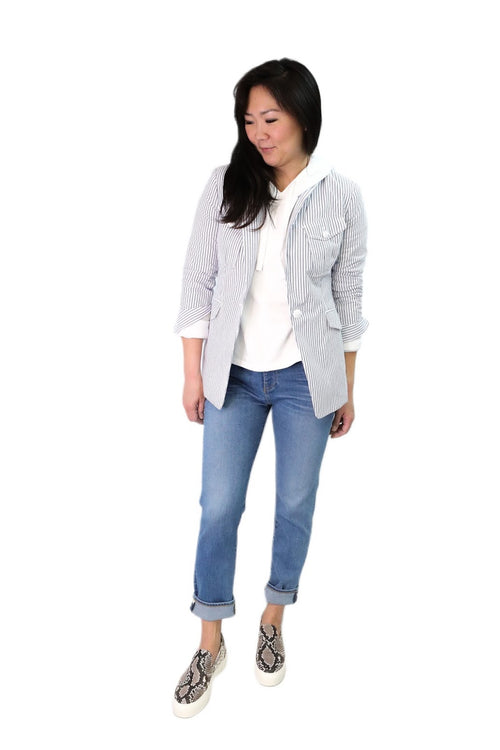 BFF High Rise Straight Leg Denim (Joy)