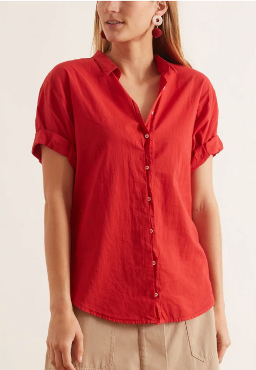 Channing Shirt (Buoy Red)