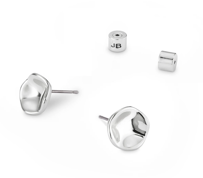 Gaia Stud Earrings Silver