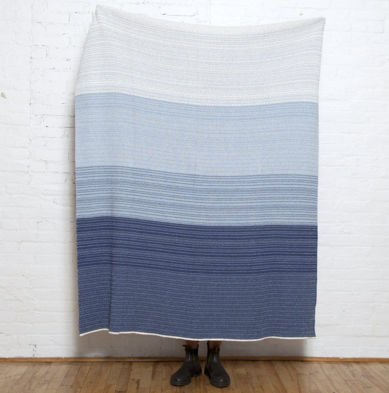 Digital Ombre Throw