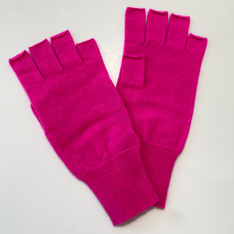 Fingerless Gloves (Atomic Pink)