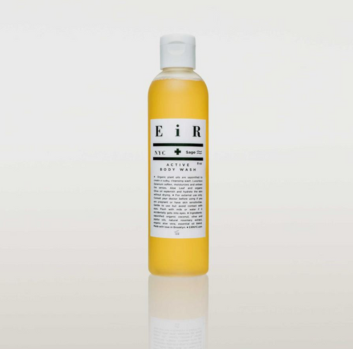 Eir NYC 8 oz Active Body Wash Organic Clean Beauty