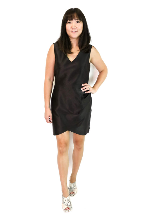 Rosabella Faux Wrap Dress