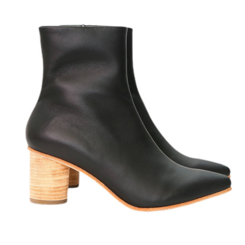 Calypso Boot with Cylinder Heel