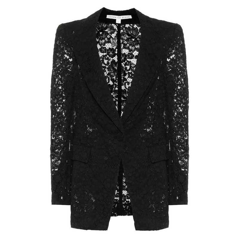 Long and Lean Lace Dickey Jacket