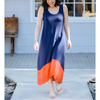 Colorblock Tank Dress (Eclipse)