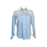 All My Exes Chambray Shirt (Rope 'Em Up)