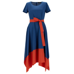 Rivalta Colorblock Jersey Dress