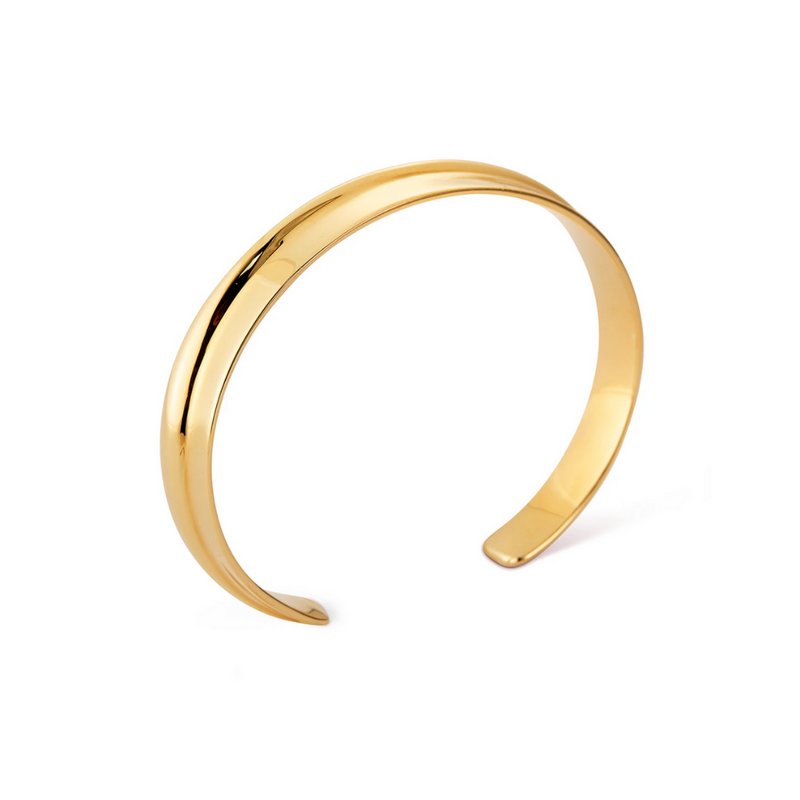 Ora Slim Cuff Gold