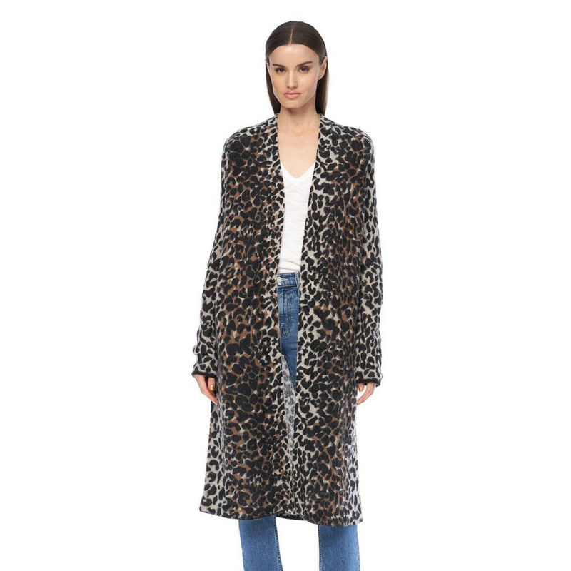 Meaghan Animal Print Duster