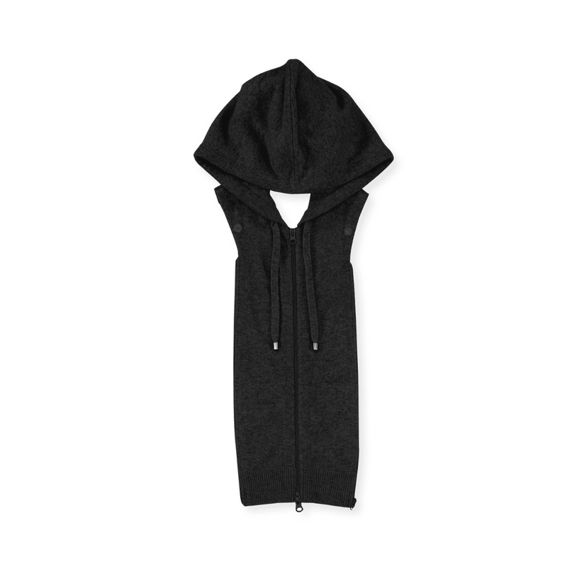 Cashmere Hoodie Dickey Black