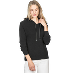 Easy Hoodie Sweater (Black)