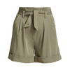 Saige Cuffed Paperbag Shorts
