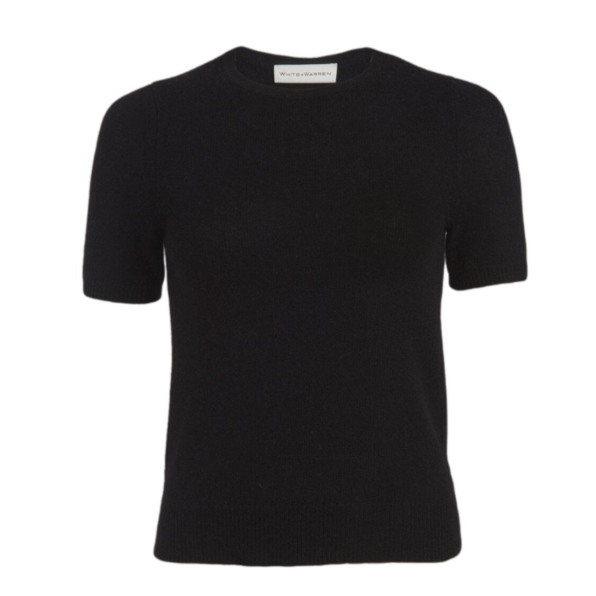 Cashmere Fitted Tee Shirt