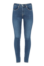 Palme High Rise Skinny Denim (Sentiment)